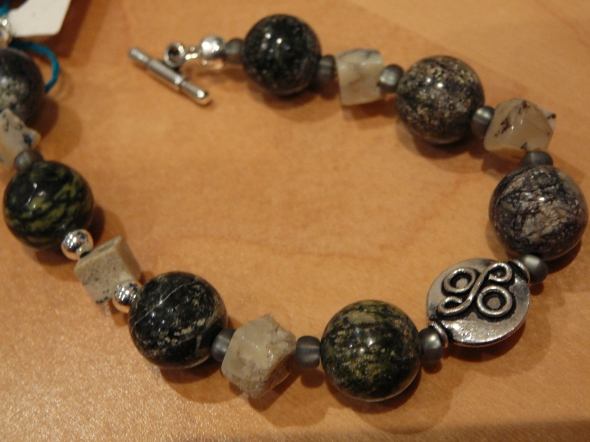 Dec 16 dark green jasper