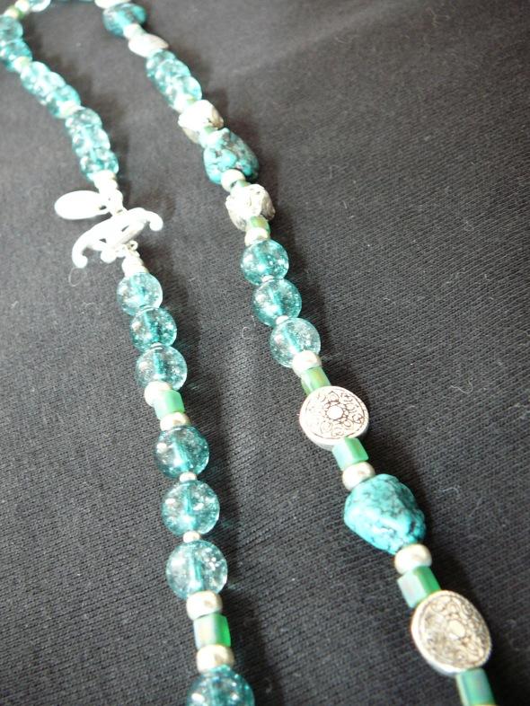 Dec 16 turquoise, blue quartz