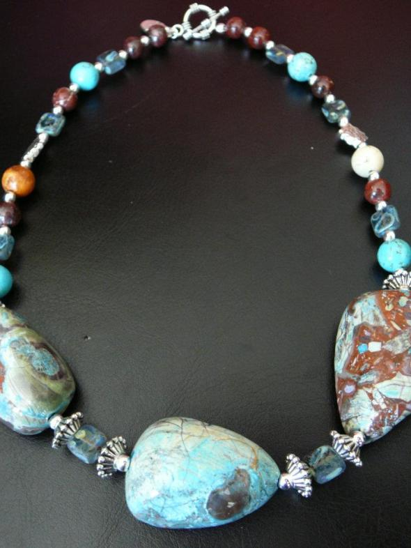 Triple chrysacolla