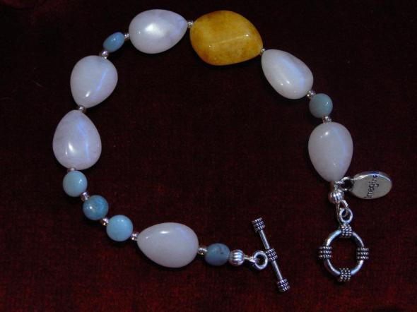White jade, candy jade, amazonite